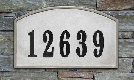 Qualarc Riviera RIV4602SL Address Plaques, RIV 4602 SL