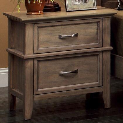 Furniture of America Loxley CM7351N Nightstand Brown, Main Image