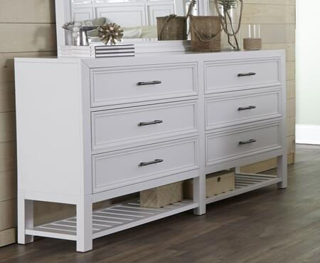 Progressive Furniture Serenade B12423 Dresser White, Main Image