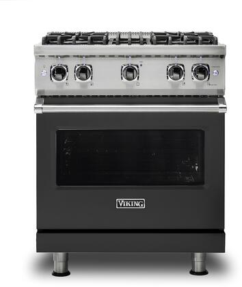 Viking 5 Series VGR5304BCS Freestanding Gas Range Black, VGR5304BCS Gas Range