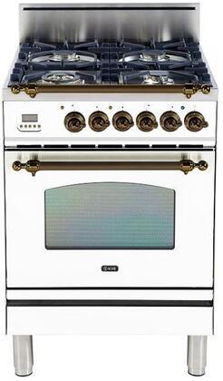 Ilve Nostalgie UPN60DVGGBY Freestanding Gas Range , UPN60DVGGBY Nostalgie Gas Range