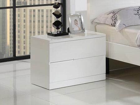 Grako Design  GN2139 Nightstand White, Main Image
