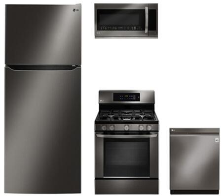LG 862064 Kitchen Appliance Package & Bundle Black Stainless Steel, 1
