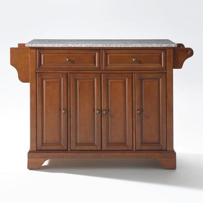 Crosley Furniture Lafayette KF30003BCH Kitchen Island Brown, KF30003BCH W1