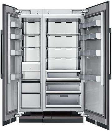 Dacor  865529 Column Refrigerator & Freezer Set Panel Ready, Custom Panels and Handles not Included
