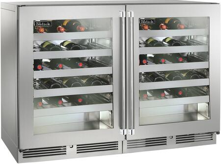 Perlick Signature 1443764 Wine Cooler 76 Bottles and Above Stainless Steel, 1