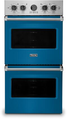 Viking 5 Series VDOE527AB Double Wall Oven Blue, VDOE527AB Electric Double Wall Oven