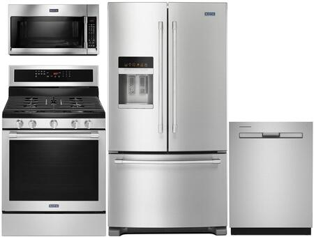 Maytag 767537 Kitchen Appliance Package & Bundle Stainless Steel, main image