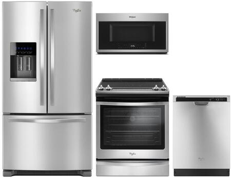 Whirlpool 913506 Kitchen Appliance Package & Bundle Stainless Steel, main image