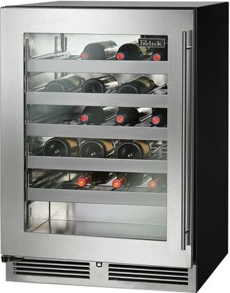 Perlick C Series HC24WB43LL Wine Cooler 26-50 Bottles Stainless Steel, Main Image