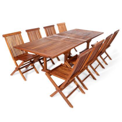All Things Cedar TE9022R Outdoor Patio Set, TE90 22.MAIN