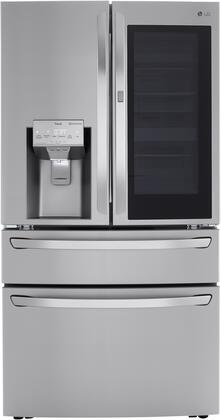 LG  LRMVC2306S French Door Refrigerator Stainless Steel, LRMVC2306S Front
