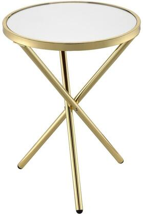 Acme Furniture Lajita 81817 End Table Gold, Side Table