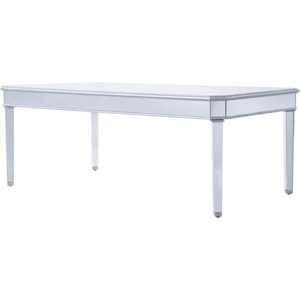 MF6-1038S Dinning Table 80″ X 44″ X 30″ In Silver