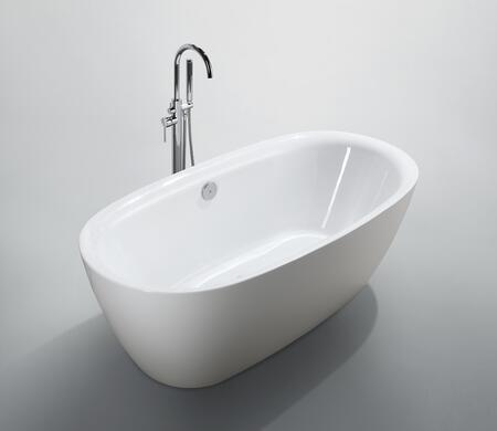 Bellaterra Home Palermo BA6831 Bath Tub White, Main image