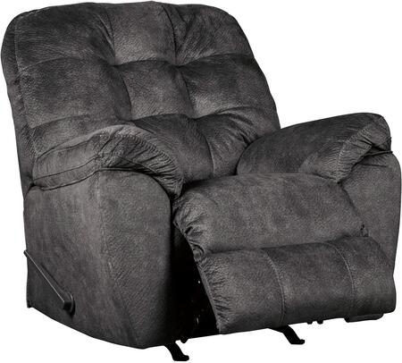 Signature Design by Ashley Accrington 7050925 Recliner Chair Gray, Main Image