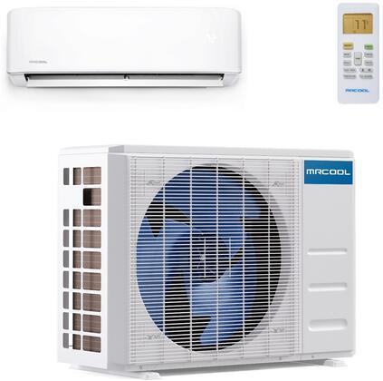 MRCOOL DIY Series DIY24HP230B25 Single-Zone Mini Split Air Conditioner White, Main Image
