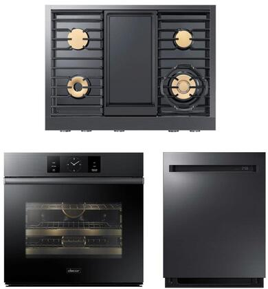 Dacor  938005 Kitchen Appliance Package Graphite Stainless Steel, main image