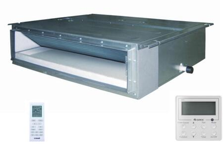 Gree  DUCT18HP230V1AD Mini Split Indoor Unit Stainless Steel, Main Image