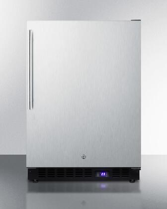 Summit  SPFF51OSSSHV Compact Freezer Stainless Steel, Main Image