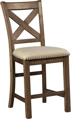 Signature Design by Ashley Moriville D631124 Bar Stool Brown, Main Image