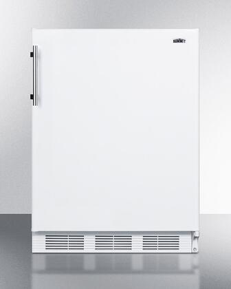 Summit  CT661W Compact Refrigerator White, CT661W Compact Refrigerator