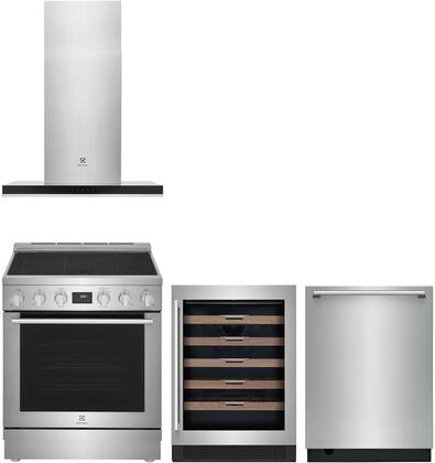 Electrolux  1455735 Kitchen Appliance Package Stainless Steel, Main image