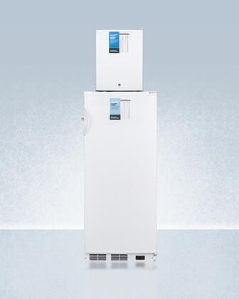 AccuCold  FFAR10FS30LSTACKPRO Top Freezer Refrigerator White, FFAR10FS30LSTACKPRO Stacked Refrigerator and Freezer