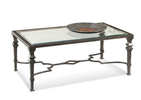 Bassett Mirror Lido T1210100EC Coffee and Cocktail Table Gray, T1210 100EC