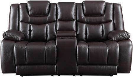 Global Furniture USA U1706AGNESESPRESSOPCRLSWPHR Loveseat Brown, products global furniture color u1706  1131074325 u1706 agnes espresso pcrls w  phr b1