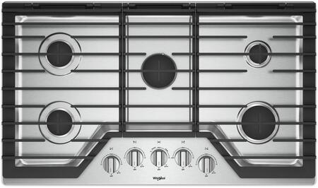 Whirlpool  WCG97US6HS Gas Cooktop Stainless Steel, Main Image