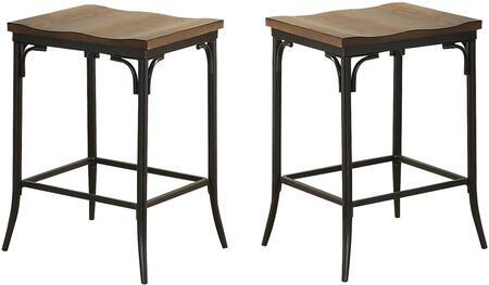Acme Furniture Jalisa 72352 Bar Stool Brown, Stools