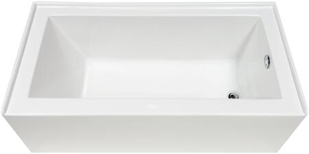 BT-0010 Clay 60″ Bathtub With skirt  in