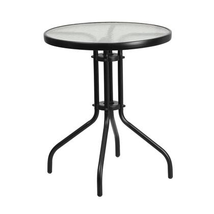Flash Furniture  TLH0701GG Outdoor Patio Table Black, TLH 070 1 GG