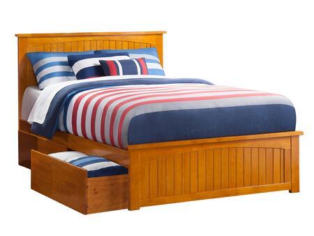 Atlantic Furniture Nantucket AR8236117 Bed Brown, AR8236117 SILO BD2 30