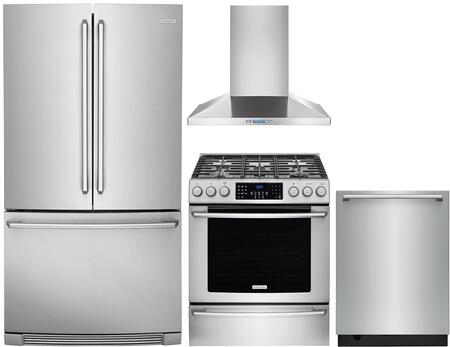 Electrolux 1052297 Kitchen Appliance Package & Bundle Stainless Steel, main image