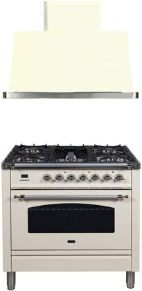 Ilve  1311360 Kitchen Appliance Package Bisque, Main Image