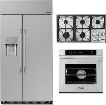 Dacor Heritage 1291014 Kitchen Appliance Package Stainless Steel, Main image