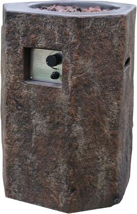 Modeno OFG601LP Outdoor Fire Pit Brown, Main Image