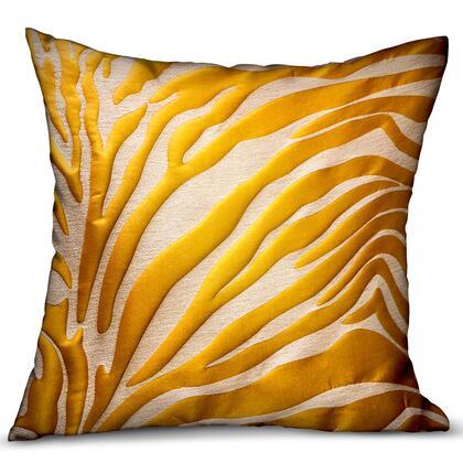 Plutus Brands Mimosa Zebra PBRA23411616DP Pillow, PBRA2341