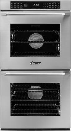 Dacor Heritage HWO227ES Double Wall Oven Stainless Steel, Front View