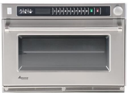 Amana AMSO35 Commercial Microwave Stainless Steel, Main Image