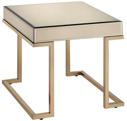 Acme Furniture Boice 81637 End Table Gold, Main Image