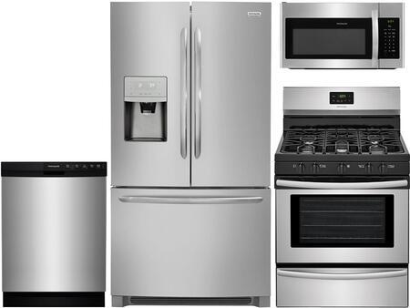 Frigidaire 965251 Kitchen Appliance Package & Bundle Stainless Steel, 1