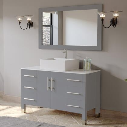 8116G Complete 48″ Vanity Set with Polished Chrome