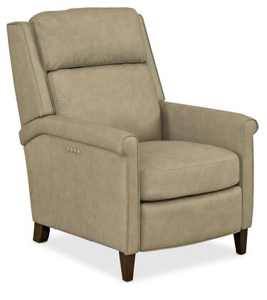 Hooker Furniture RC Series RC228PH085 Recliner Chair Beige, Silo Image