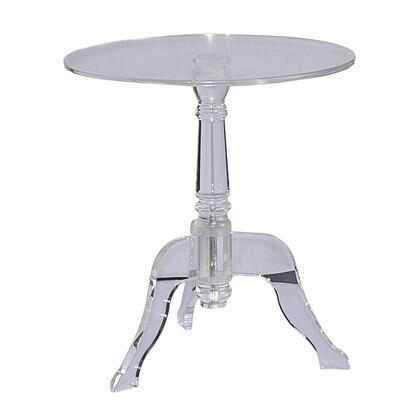 Linon 65036ACR01U End Table, 65036ACR01U%20Clear%20Acrylic%20End%20Table