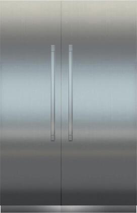 Liebherr Monolith 1039378 Column Refrigerator & Freezer Set Stainless Steel, Main Image