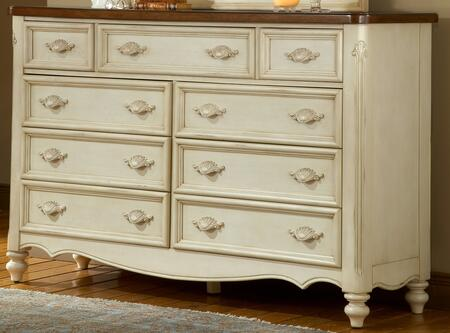 American Woodcrafters Chateau 3501290 Dresser White, 1