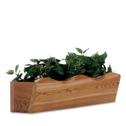 All Things Cedar  WB20 Planters and Flower Shelf , 1